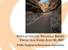 "Anna Williams, PERA Chief Financial Officer- PERA's first annual ""Popular Annual Financial Report"" (PAFR)"